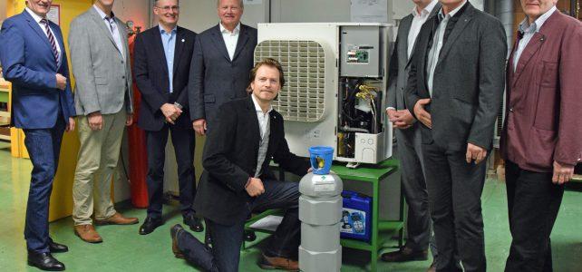 1. Kälteanlage mit natürlichem Kältemittel CO2 in Betrieb!